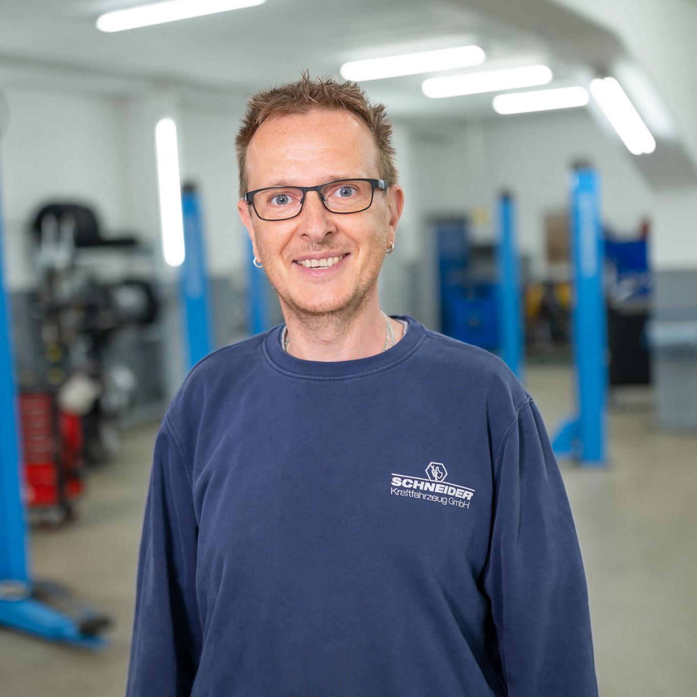 Sascha Böning   Kfz-Mechaniker